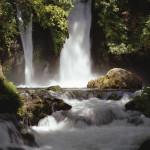 Waterfalls in Banias (Caesarea-Philippi) Israel