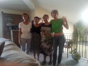 2 Vivian, Yudit, Mirella e Katiuscia